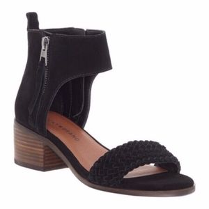 NWOB Lucky Brand Nichele Woven Sandals
